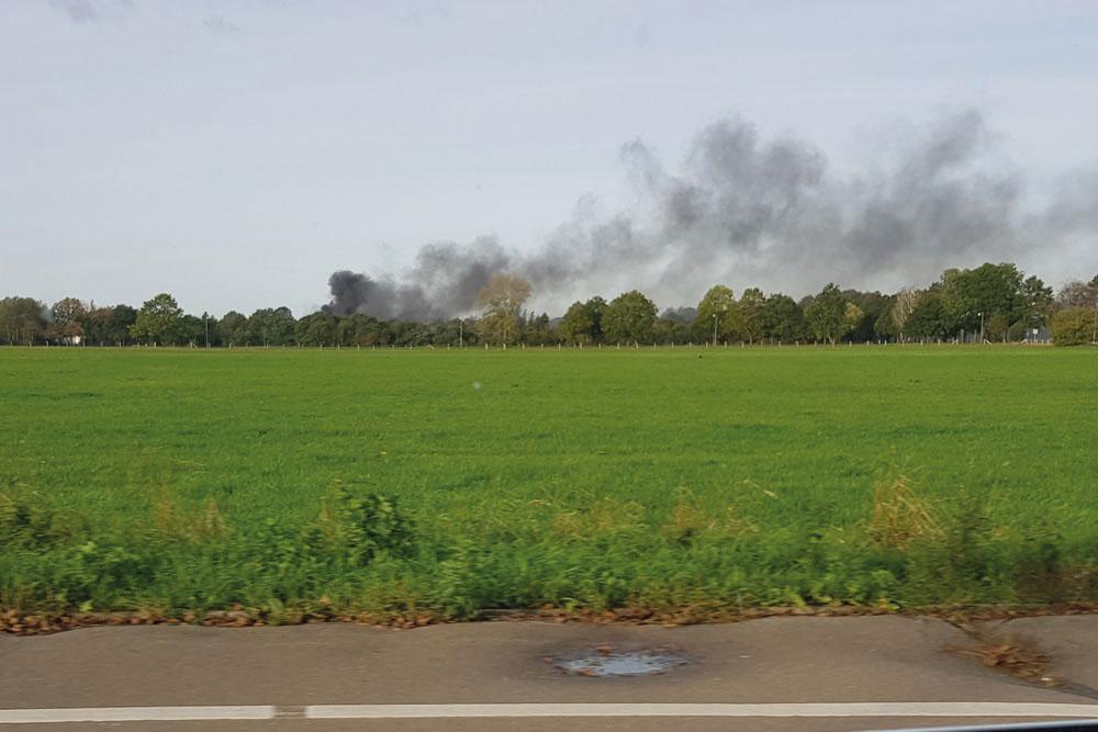 Explosion in Autowerkstatt