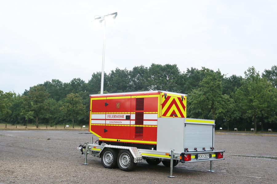 Anhänger Notstrom / Licht